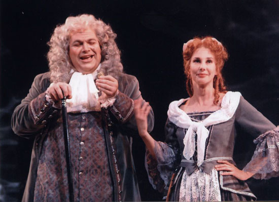 Kristen as Despina in COSI FAN TUTTE